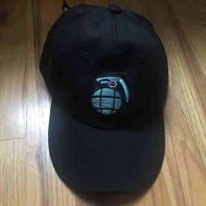 grenade world peace strap back hat